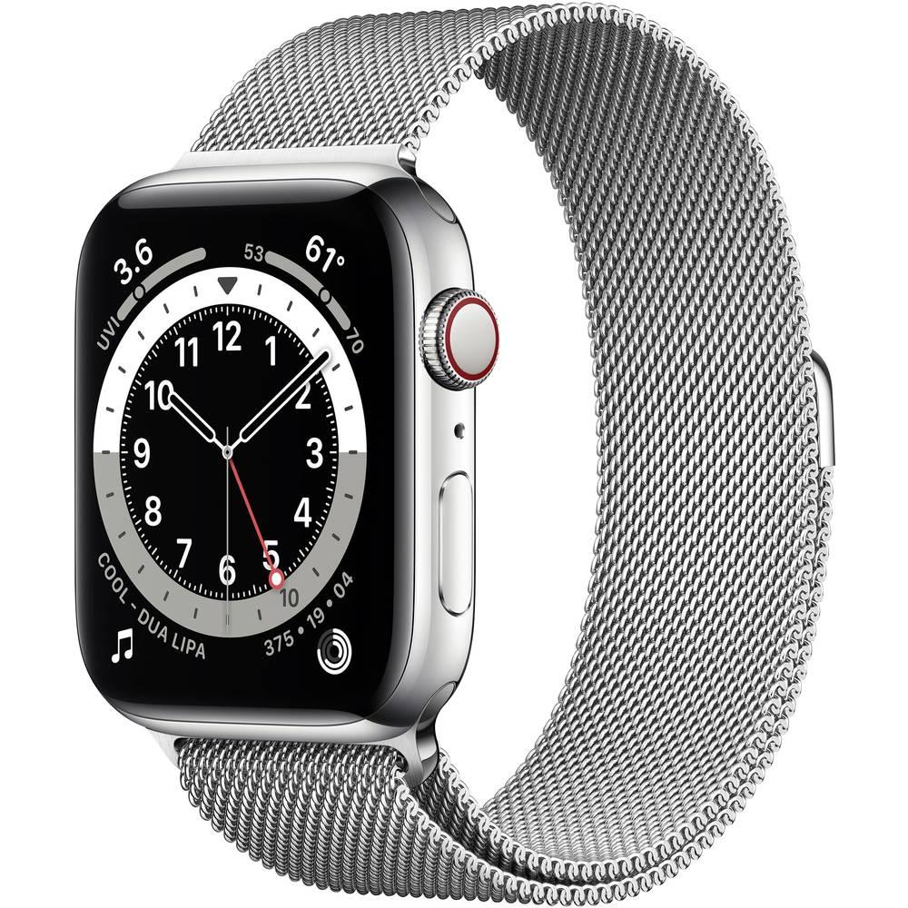 Apple Watch Series 6 Apple Watch 44 mm Zilver