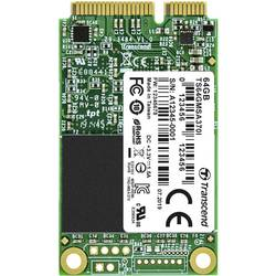 Interný mSATA SSD pevný disk Transcend MSA370I TS64GMSA370I, 64 GB, Retail, SATA 6 Gb / s