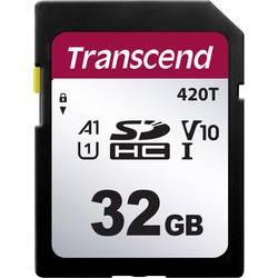 Pamäťová SD karta, 32 GB, Transcend TS32GSDC420T, v30 Video Speed Class