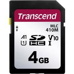 Pamäťová SD karta, 4 GB, Transcend TS4GSDC410M, Class 10 UHS-I