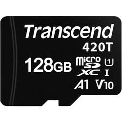 Pamäťová karta micro SD, 128 GB, Transcend TS128GUSD420T, Class 10 UHS-I