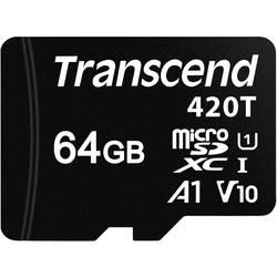 Pamäťová karta micro SD, 64 GB, Transcend TS64GUSD420T, Class 10 UHS-I