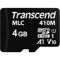 Pamäťová karta micro SD, 4 GB, Transcend TS4GUSD410M, Class 10 UHS-I