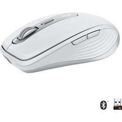 Laserový/á Wi-Fi myš Logitech MX Anywhere 3 910-005989, je možné znovu nabíjať, svetlosivá