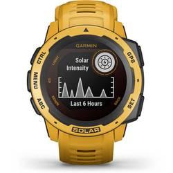 Smart hodinky Garmin Instinct® Solar, žltá
