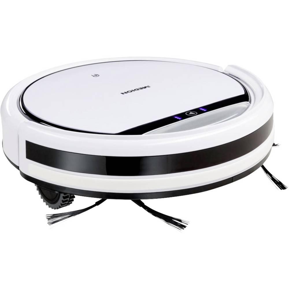 Medion MD 10065 Robotstofzuiger Wit, Zwart 1 virtuele muur, Op afstandsbedienbaar
