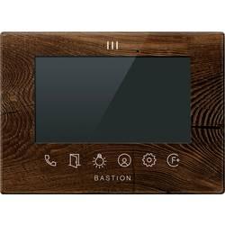 Image of Bastion BA.IU7.WOT Video-Türsprechanlage LAN Inneneinheit 1 Familienhaus Holz (dunkel)