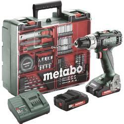 Aku vŕtací skrutkovač Metabo 602321870, 18 V, 2 Ah, Li-Ion akumulátor