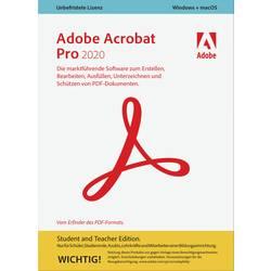 Image of Adobe Acrobat Pro 2020 Student and Teacher Edition Vollversion, 1 Lizenz Windows, Mac PDF-Software