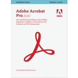 Image of Adobe Acrobat Pro 2020 Vollversion, 1 Lizenz Windows, Mac PDF-Software