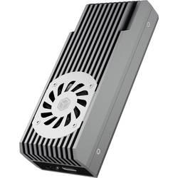 Puzdro pre pevný disk M.2 ICY BOX 60792, USB-C ™ USB 3.2 (2. generácia), M.2 NVMe PCIe 3.0 x4, čierna