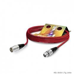 Mikrofónny XLR prepojovací kábel Hicon SGHN-1000-RT SGHN-1000-RT, 10.00 m, červená