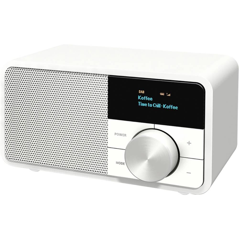 Kathrein DAB+ 1 mini Tafelradio DAB+, FM DAB+, FM, Bluetooth Wit