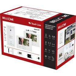 Image of Bellcome SCU.VDR03.BLG34 Video-Türsprechanlage Kabelgebunden Komplett-Set 14teilig Weiß