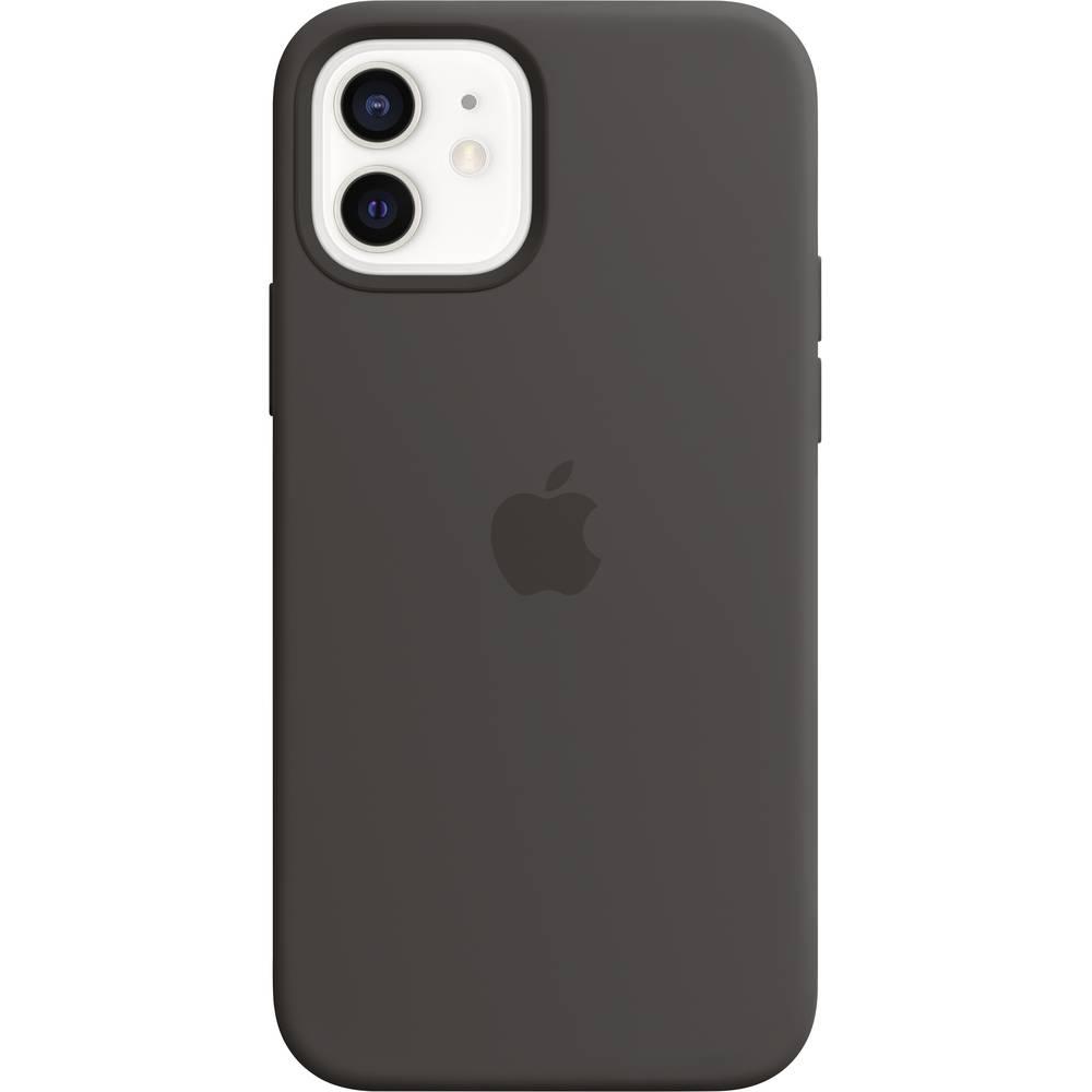 iPhone 12-12 Pro Apple Siliconen Hoesje met MagSafe MHL73ZM-A Zwart