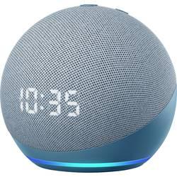 Image of amazon echo Echo Dot (4. Generation) mit Uhr Sprachassistent Blau-Grau