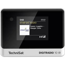 N/A TechniSat DIGITRADIO 10 IR, Bluetooth, DAB+, internetové rádio, UKW, Wi-Fi, čierna/strieborná