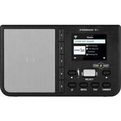 N/A TechniSat STERNRADIO IR 1, AUX, internetové rádio, Wi-Fi, čierna