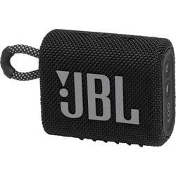 Bluetooth® reproduktor JBL Go 3 vodotesný, prachotesný, čierna