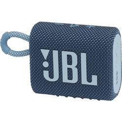 Bluetooth® reproduktor JBL Go 3 vodotesný, prachotesný, modrá