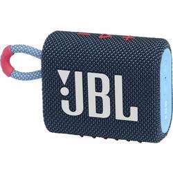 Bluetooth® reproduktor JBL Go 3 vodotesný, prachotesný, modrá, ružová