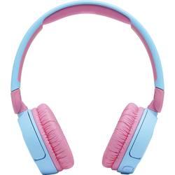 Detské slúchadlá On Ear JBL JR 310 BT JBLJR310BTBLU, svetlomodrá, ružová
