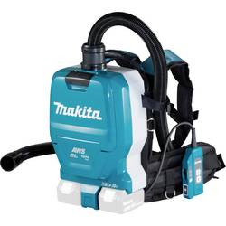 Akumulátorový batohový vysávač Makita 36 V, tyrkysová