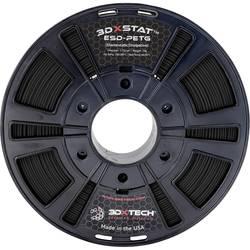 Vlákno pre 3D tlačiarne, 3D Xtech PTG2031000BK0, PETG plast, 2.85 mm, 1000 g, čierna