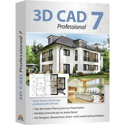 Image of Ashampoo 3D CAD 7 Professional Vollversion, 1 Lizenz CAD-Software