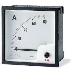 Image of ABB AMT1-A1/96 Analoges Einbaumessgerät AMT1-A1/96 Amperemeter analog Wandlermessung, Wechselstrom, 96mm