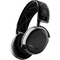 Steelseries Arctis 9X herný headset s Bluetooth, bezdrôtový 2,4 GHz káblový, stereo cez uši čierna/strieborná