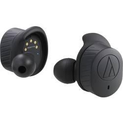 Bluetooth športové štupľové slúchadlá Audio Technica ATH-SPORT7TW ATH-SPORT7TWBK, čierna