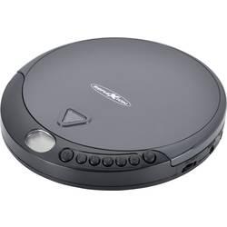 Prenosný CD prehrávač - diskman Reflexion PCD400, CD, CD-R, CD-RW, čierna