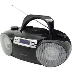 N/A soundmaster SCD8100SW, AUX, Bluetooth, CD, DAB+, SD, UKW, USB, čierna