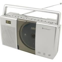 N/A soundmaster RCD1185, CD, UKW, sivá