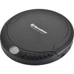 Prenosný CD prehrávač - diskman Roadstar PCD-498MP black, CD, CD-R, CD-RW, MP3, WMA, čierna