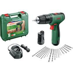 Aku príklepová vŕtačka Bosch Home and Garden EasyImpact 1200 06039D3105, + 2. akumulátor, vr. príslušenstva, + púzdro