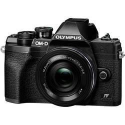 Digitálny fotoaparát Olympus OM-D E-M10 Mark IV 1442 EZ Pancake Kit (EZ), 21.8 MPix, čierna