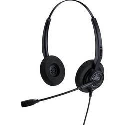 Image of Alcatel-Lucent Enterprise AH 12 U Telefon-Headset USB schnurgebunden On Ear Schwarz
