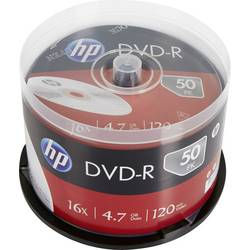 Image of HP DME00025 DVD-R Rohling 4.7 GB 50 St. Spindel