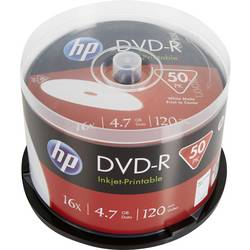 Image of HP DME00025WIP DVD-R Rohling 4.7 GB 50 St. Spindel