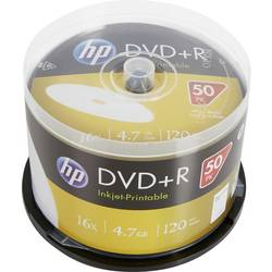 Image of HP DRE00026WIP DVD+R Rohling 4.7 GB 50 St. Spindel Bedruckbar