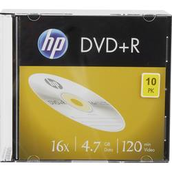 Image of HP DRE00085 DVD+R Rohling 4.7 GB 10 St. Slimcase