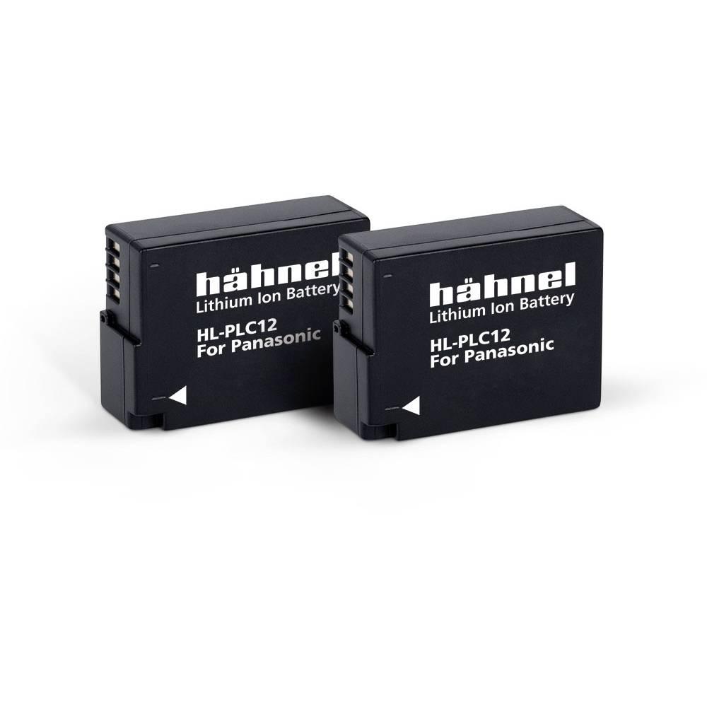 Hähnel HL-PLC12, 2er Camera-accu Vervangt originele accu DMW-BLC12E 7.2 V 1000 mAh