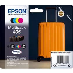 Sada 4 ks. náplní do tlačiarne Epson 405 C13T05G64010, čierna, žltá, zelenomodrá, purpurová