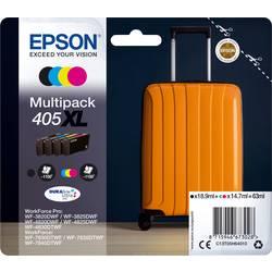 Sada 4 ks. náplní do tlačiarne Epson 405XL C13T05H64010, čierna, žltá, zelenomodrá, purpurová