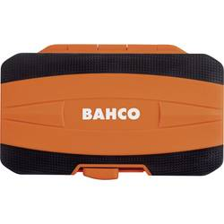 Image of Bahco 59/S36BCR Bit-Set 36teilig Schlitz, Kreuzschlitz Phillips, Kreuzschlitz Pozidriv, Sechskant, Außen-Sechsrund (TX)