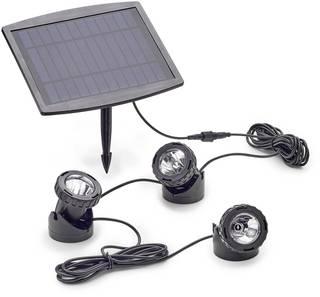 Teichbeleuchtung mit Solar