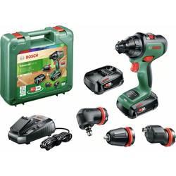 Bosch Home and Garden AdvancedDrill 18 2-cestný-aku vŕtací skrutkovač 18 V + 2. akumulátor, + púzdro, vr. nabíjačky