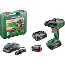 Aku príklepová vŕtačka Bosch Home and Garden AdvancedImpact 18 06039B5109, + 2. akumulátor, + púzdro, vr. nabíjačky